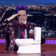Stephen Colbert Says Farewell to Fallen Tribute Jeb!, 2016's Joyful Tortoise – WATCH