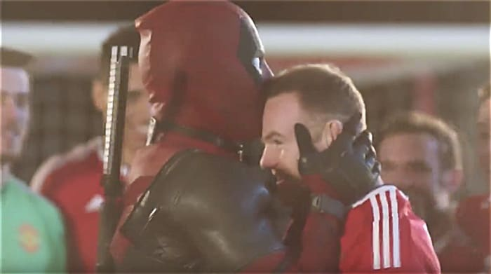 Deadpool Wayne Rooney