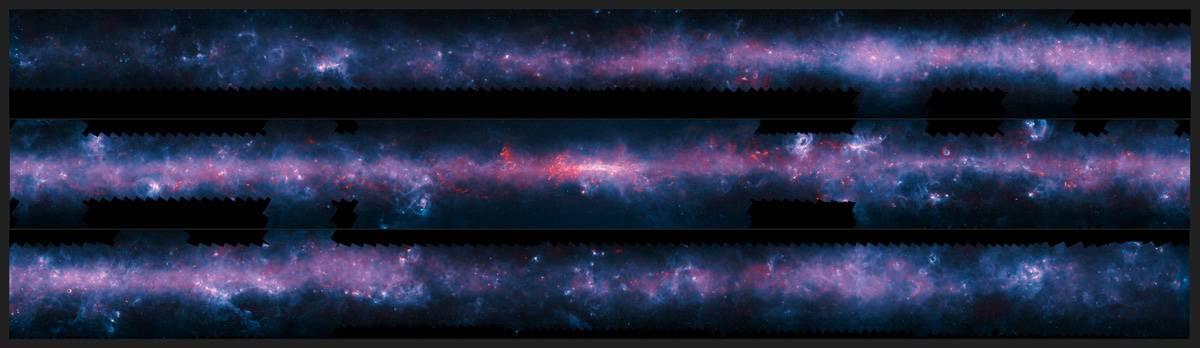 Milky Way mapped