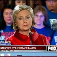 Nevada hillary Clinton