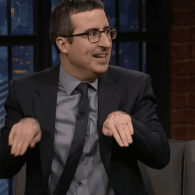 John Oliver Thinks Coldplay Was an Awkward Third Wheel at the Super Bowl Halftime Show – WATCH