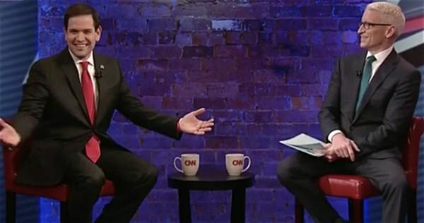 Marco Rubio rave Anderson Cooper