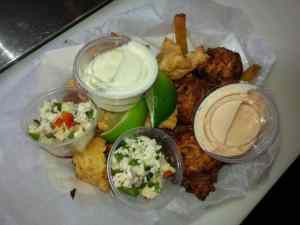 Conch Fritters / Conch Shack