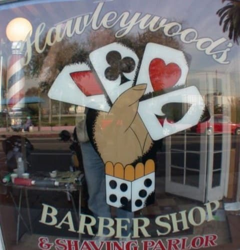 Hawleywood Barber Shop transgender barber