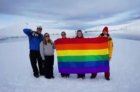 Planting Peace Antarctica lgbt-friendly continent