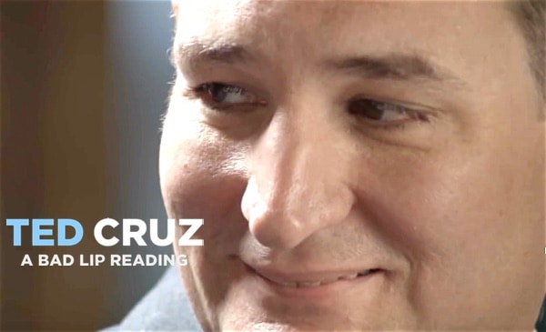 Ted Cruz bad lip reading