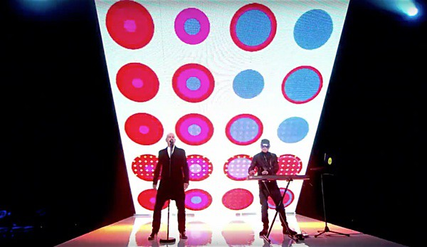 Pet Shop Boys perform
