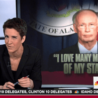 rachel maddow robert bentley