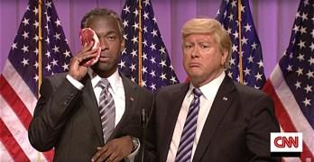 SNL Ben Carson Donald Trump