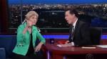 Elizabeth Warren Stephen Colbert