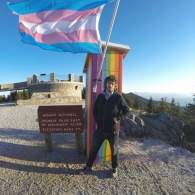 'Survivor' Contestant Neal Gottlieb Plants Rainbow Outhouse with Transgender Flag Atop NC's Tallest Mountain