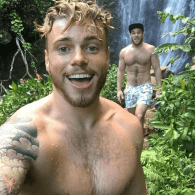 Gus Kenworthy and Boyfriend Matthew Wilkas Go 'Chasing Waterfalls' in Hawaii – LOOK