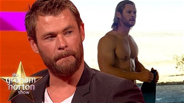 dirty Thor Chris Hemsworth