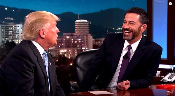 Donald Trump Jimmy Kimmel