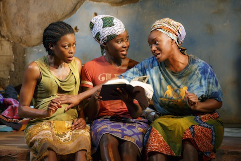 The nominated cast of 'Eclipsed'