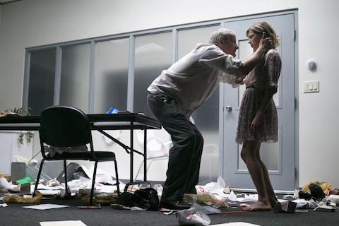 Jeff Daniels and Michelle Williams in 'Blackbird'