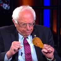 Bill Maher Gets Bernie Sanders' Reaction to Debate Snub by #ChickenTrump: WATCH