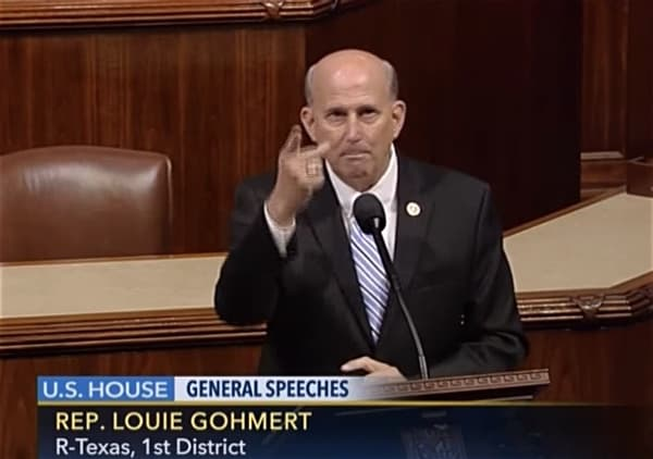 Gohmert suggests without evidence that wearing mask contributed to contracting coronavirus