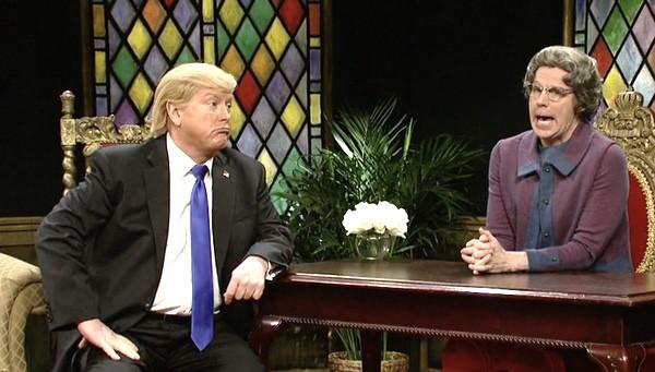 church lady Trump