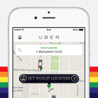 Uber Is Offering Free Rides to LGBTQ Centers and Sites This Weekend