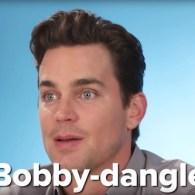 Matt Bomer Understands What 'Bobby-Dangler' Means: WATCH