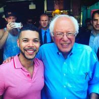 Bernie Sanders and Wilson Cruz Hit Drag Brunch in West Hollywood: WATCH