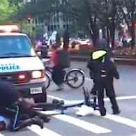 Gay Cyclist Speeding to Sex Hookup Tackled in Front of Obama's Motorcade: WATCH