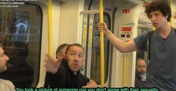homophobia experiment london