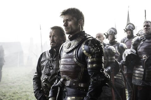 Jaime and Bronn on Game of Thrones