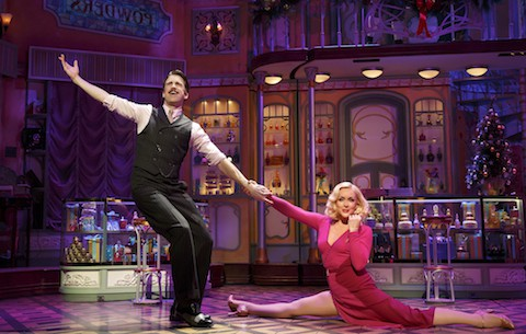 Jane Krakowski and Gavin Creel in 'She Loves Me'