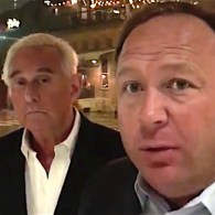 Roger Stone Alex Jones Trump gay