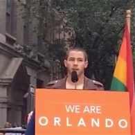 Nick Jonas vigil
