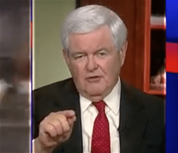 newt gingrich sharia