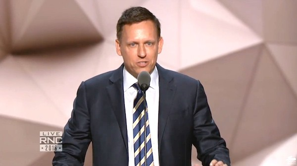 Peter Thiel fascist
