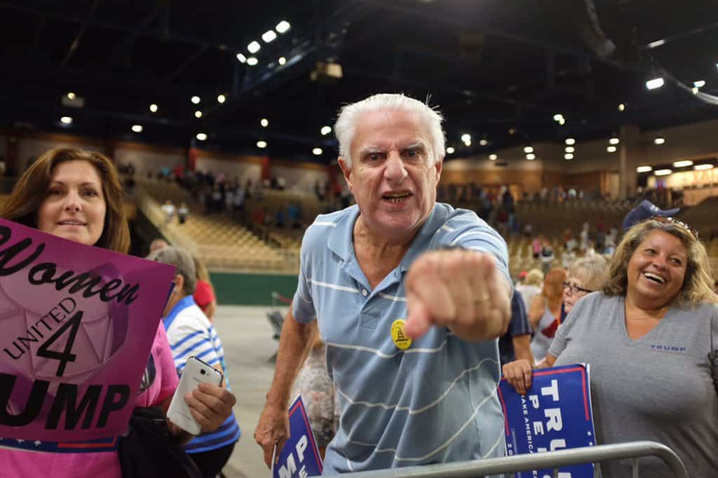 trump supporter media traitors