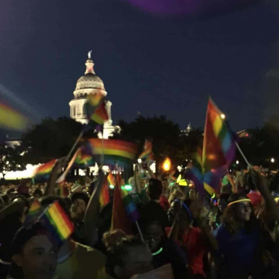 Austin + gay + pride