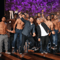 Channing Tatum Has the Men of 'Magic Mike Live' Strip for Ellen – WATCH