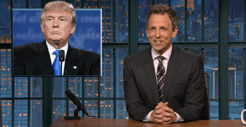 seth meyers debate