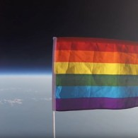 Pride Flag space
