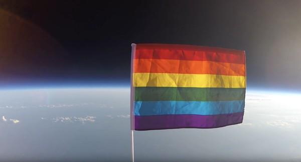 Pride Flag space