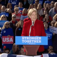 Elizabeth Warren Eviscerates Donald Trump: 'Nasty Women Vote!' – WATCH