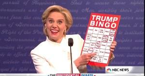 snl presidential debate bingo kate mckinnon