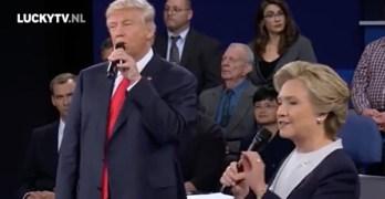 Trump Clinton duet