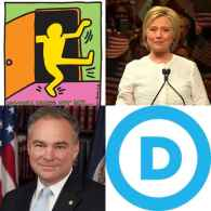 Hillary Clinton, Tim Kaine, and the DNC Stand by LGBT Americans on National Coming Out Day