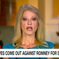 Donald Trump Reportedly 'Furious' About Kellyanne Conway's Trashing of Mitt Romney: WATCH