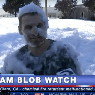 WATCH LIVE: A Giant Foam Blob Has Been Unleashed in Santa Clara, California