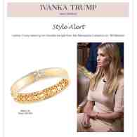Ivanka Trump Used '60 Minutes' Interview to Hawk Her Jewelry Collection