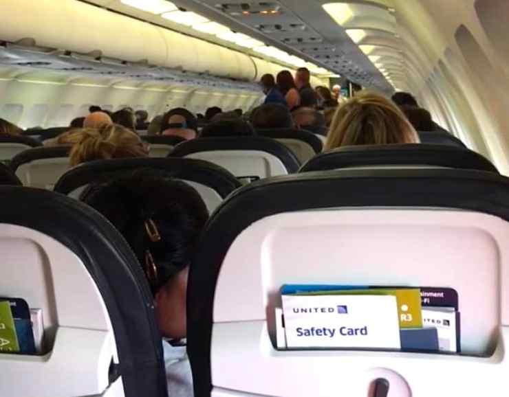united airlines argument