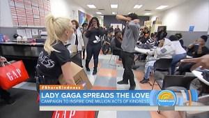 gaga surprises homeless LGBTQ teens