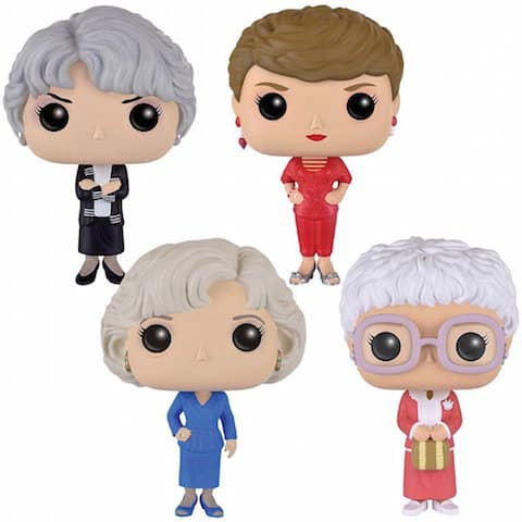 Golden Girls figures are a great holiday gift
